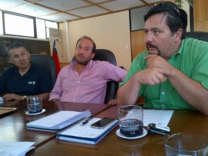 Representantes ADS Tigre y Dagoberto Bettancourt - Gerente JVRE